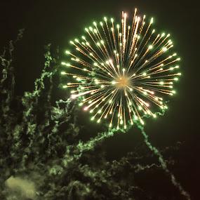 Bonfire Night 2018 by Doug Faraday-Reeves - Abstract Fire & Fireworks ( bonfire night, gunpowder, fireworks, pyrotechnics )