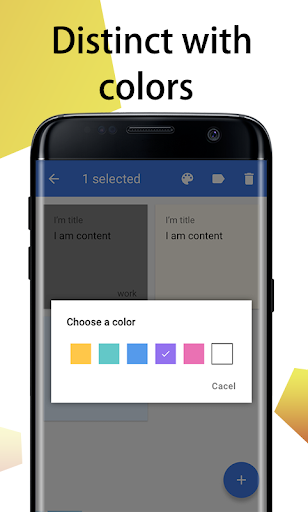 Download Color Note Pad u2013 noted for lock screen notes MOD APK 5