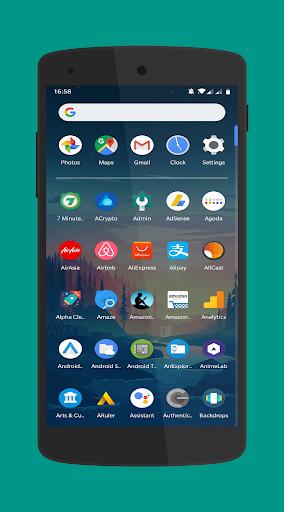 Screenshot for Pixel Theme Launcher Pro Material App ALauncher in Hong Kong Play Store