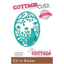 CottageCutz Elites Die 2.2X3 - Cat In Garden