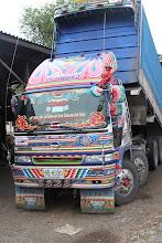 Photo: Sunkvežimis. Tailandietiškai.  A truck. The Thai way.