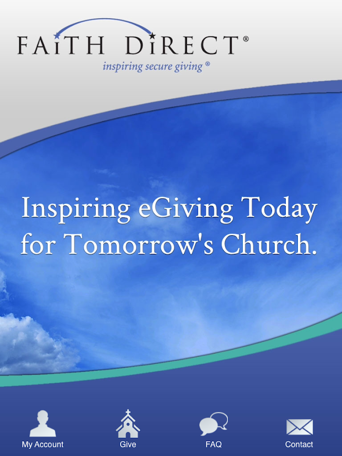 Faith Direct – Church eGiving- screenshot
