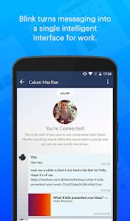 Blink Messaging - náhled