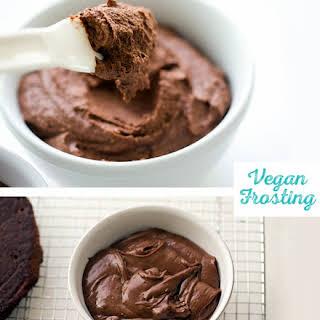 Vegan Chocolate Buttercream Frosting.