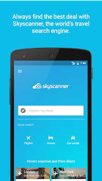 Skyscanner APK screenshot thumbnail 6