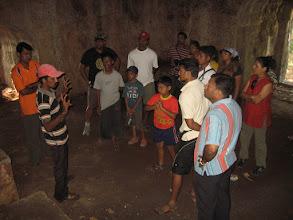 Photo: Guide telling Vijaydurg History