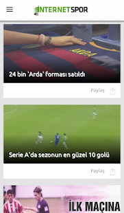 İnternet Spor- screenshot thumbnail