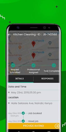 Joboo Client App ss3