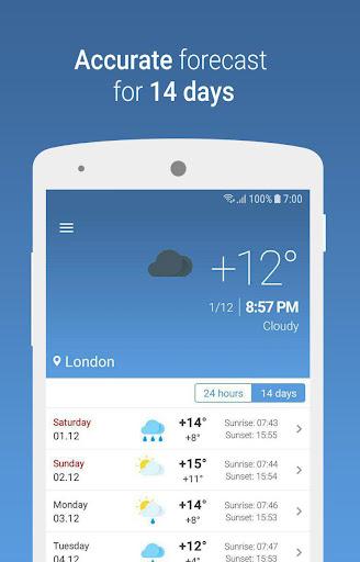 MeteoScope - Accurate forecast screenshot 2