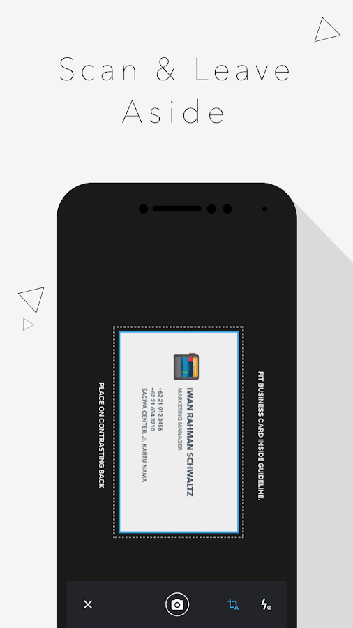 Business card scanner saciva android apps on google play for Scan business cards into google contacts