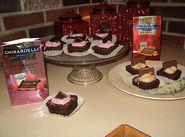 Ghirardelli Raspberry Brownies Recipe