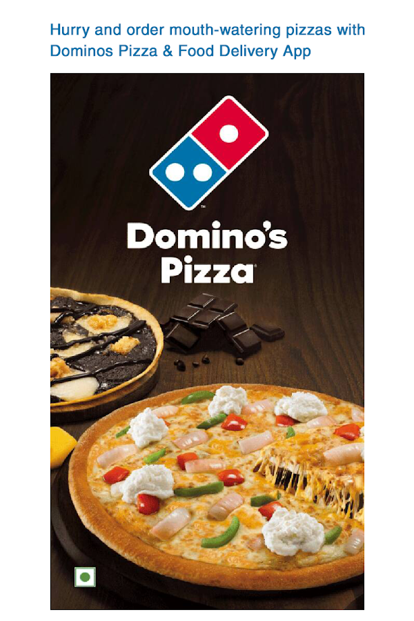 Domino's Pizza Online Delivery- screenshot