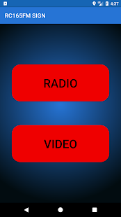 RC165FM SIGN - náhled