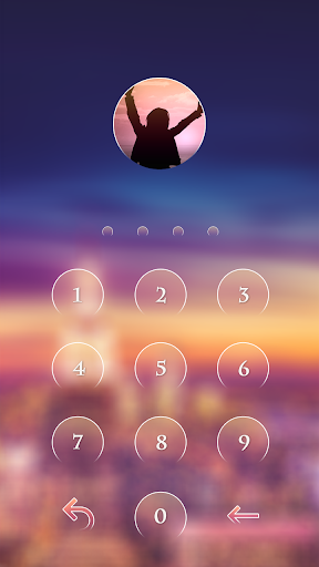 City light CM Locker Theme screenshot 2