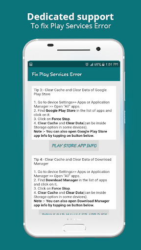 Info of Play Store & fix Play Services 2020 Update 1.1.3 Apk for Android 2