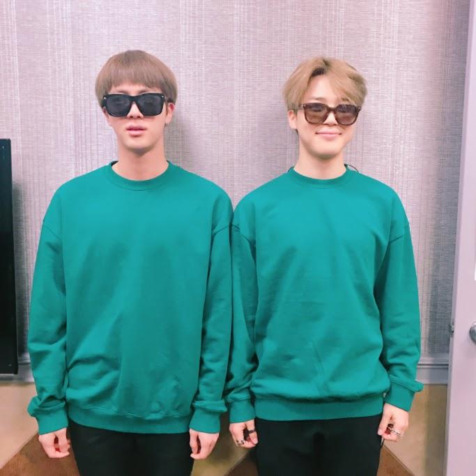 Jimin and Jin