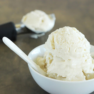Pear and Chai Spiced Coconut Ice Cream.