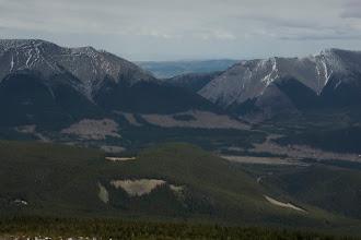 Photo: Livingstone and Saddle Mountains.