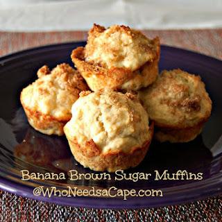 Banana Brown Sugar Muffins Recipe