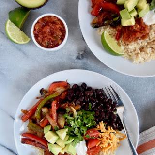 Fajita Veggie Burrito Bowls.