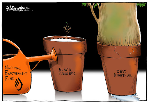 CARTOON: Seed money sown on CEO?