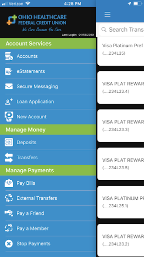 Screenshot for Ohio Healthcare FCU in United States Play Store