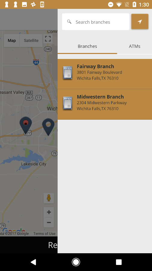 First National Bank - Mobile- screenshot