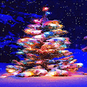 Colorful Cristmas Tree LWP icon