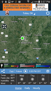 KTUL WX- screenshot thumbnail