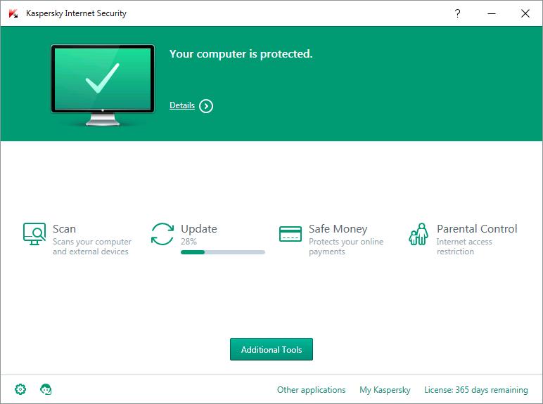 Phần mềm bảo mật, diệt virus Kaspersky Internet Security