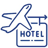 Cheap Flights and Hotel Booking icon