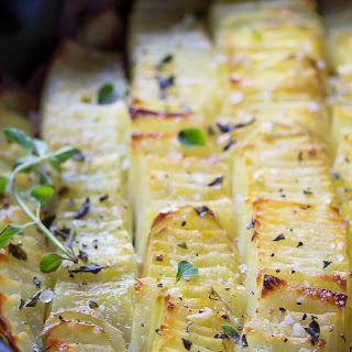 Sea Salt & Oregano Domino Potatoes