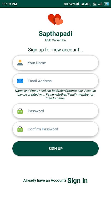 Sapthapadi - GSB Vaivahika – (Android Applications) — AppAgg
