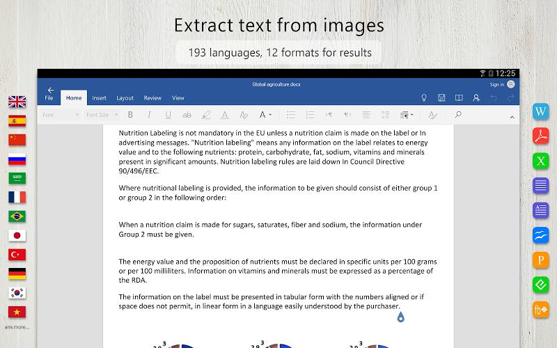 FineScanner Pro - PDF Document Scanner App + OCR Screenshot 8