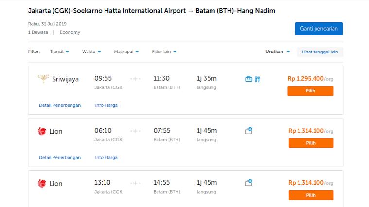 Tiket Domestik Mahal Singapura Jadi Destinasi Transit Ke Kepulauan Riau Adrian Hazmi