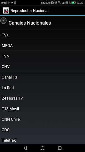 Reproductor TV Chilena 4.1.1 screenshots n 1