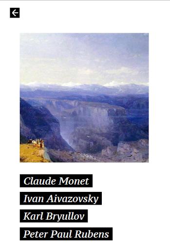 Dali+ — quiz about fine art