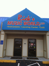 Photo: Rick's Music World in Raynham, MA proudly displaying their BBB Accreditation