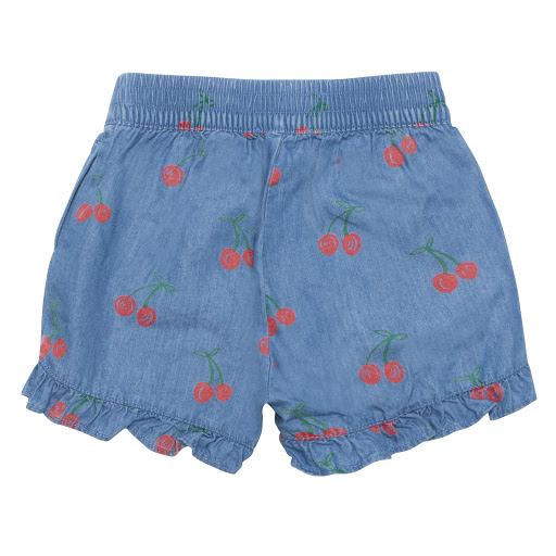Thumbnail images of Stella McCartney Cherry Denim Shorts