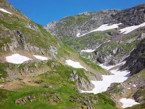 Photo: Col de la Pale de la Claouère , Vallon des prés petits , itinéraire GRT Transfrontalier , vers Borda Perosa et Alos de Isil ( Noguera Pallaressa)