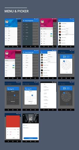 MaterialX - Android Material Design UI 2.2 screenshots 2