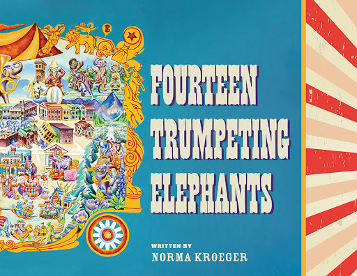 Fourteen Trumpeting Elephants cover