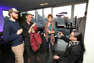 Photo: Samsung Audio event in NYC.   http://www.samsung.com/us