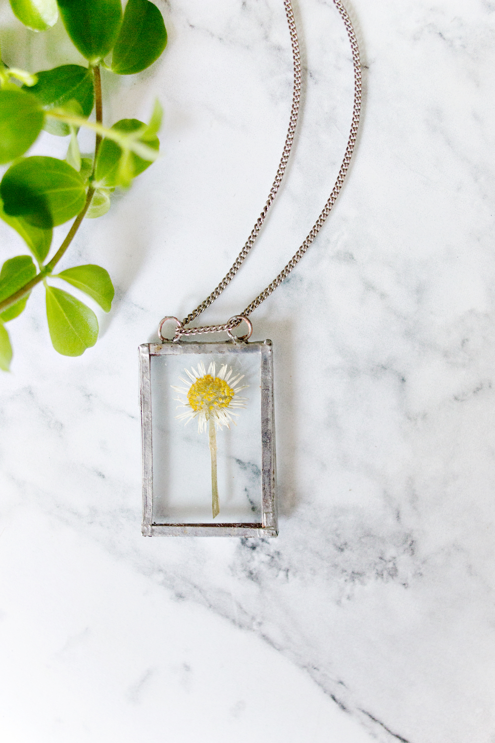 Soldered Flower Necklace