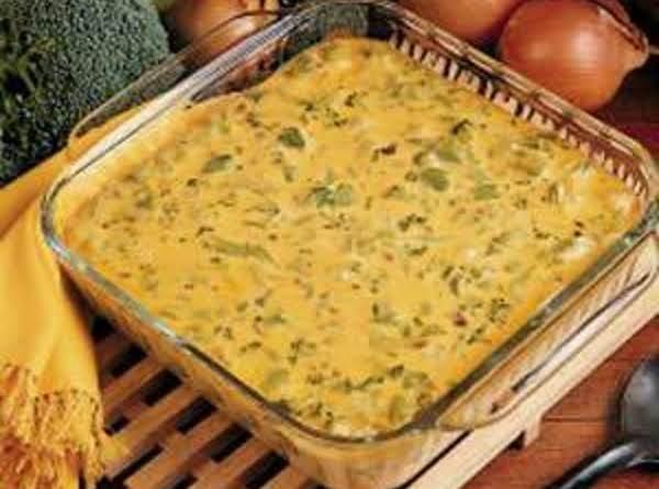Broccoli-rice Casserole Recipe