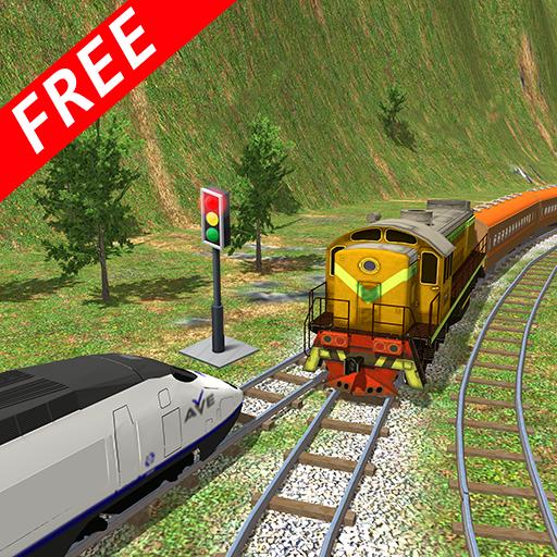 Crazy Simulation Train Stunts