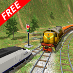 Crazy Simulation Train Stunts Icon