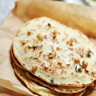 Paleo Garlic Naan Bread (Quick and Easy Recipe) Recipe