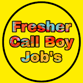 Freshers Call Boy Jobs