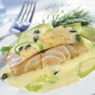 Gratiniertes Fischfilet